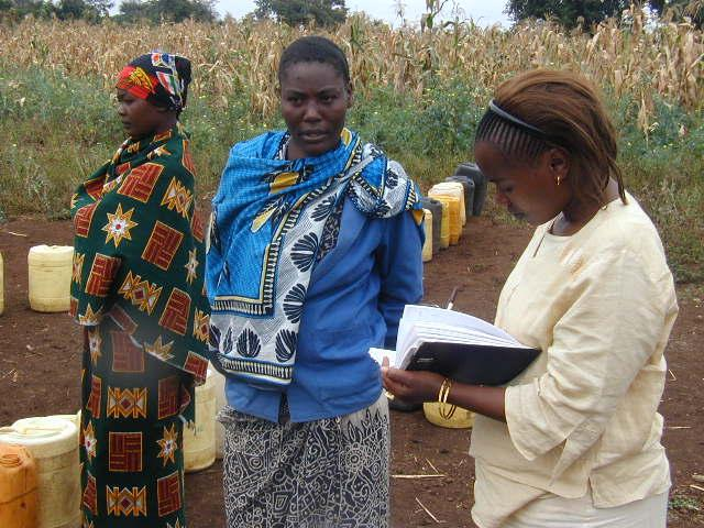 Assessment of women problems in local communities.